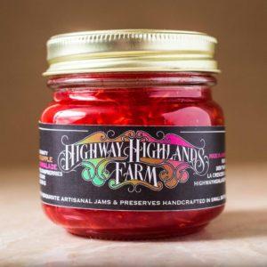 Zucchini Pineapple Raspberry Marmalade