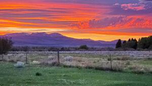 Ennis Sunset